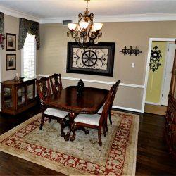 formal living room shutter
