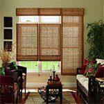 bali woven wood shades